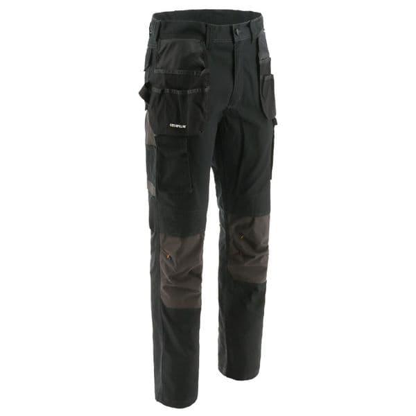 Caterpillar Essentials Knee Pocket Trousers Black